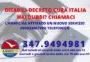 DISABILI-DECRETO CURA ITALIA: HAI DUBBI? CHIAMACI – ANMIC