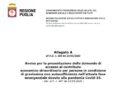 """ASSEGNO DI CURA REGIONE PUGLIA – CARADONNA: """"PUBBLICATO UN BANDO DISCUTIBILE SPACCIATO COME EMERGENZA COVID-19. CHE VERGOGNA!!!"""""""