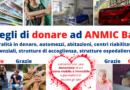 DONAZIONE ANMIC BARI