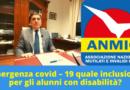 Emergenza covid – 19 quale inclusione per gli alunni con disabilità? – ANMIC