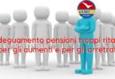 Adeguamento pensioni troppi ritardi per gli aumenti e per gli arretrati. – ANMIC