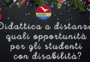 Didattica a distanza: quali opportunità per gli alunni con disabilità?