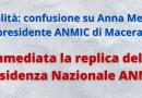 Confusione su Anna Menghi ex presidente ANMIC Macerata. La replica della Presidenza Nazionale ANMIC