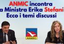 ANMIC ha incontrato la ministra per la Disabilità Erika Stefani