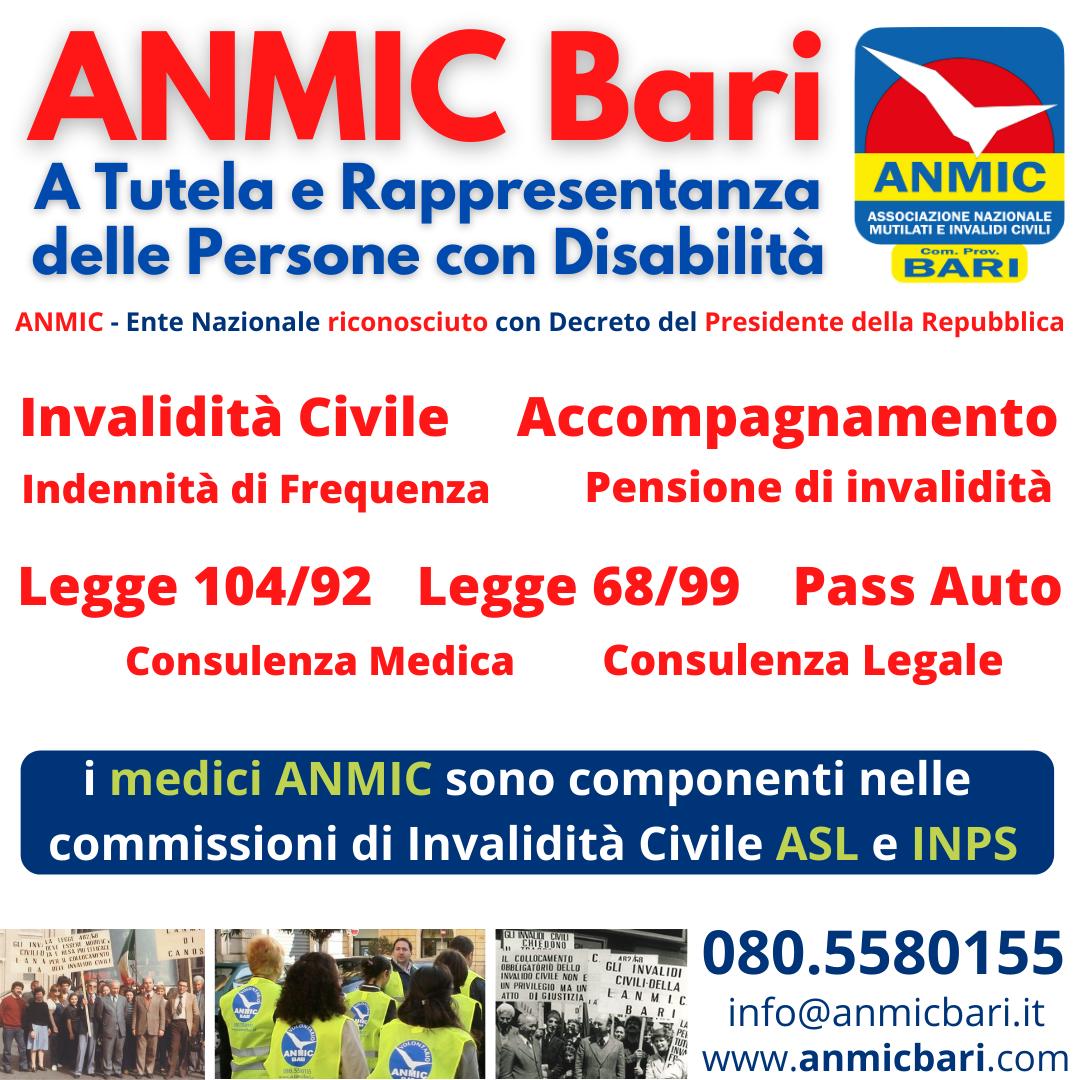 Servizi ANMIC Bari