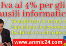 Iva al 4% per ausili tecnici e informatici, basta il certificato di invalidità