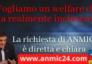 """La richiesta di ANMIC: """"Vogliamo un welfare che sia realmente inclusivo"""