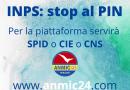 INPS: stop al PIN. Per la piattaforma servirà SPID o CIE o CNS